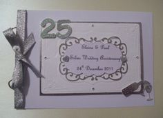 Boxed Personalised Anniversary Keepsake Album £20 #CRAFTfest