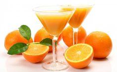 Naranjas contra el jugo de naranja