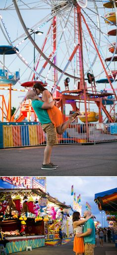 Carnival Engagement | COUTUREcolorado WEDDING: colorado wedding blog + resource guide -- @pamela5 ... this is your pose!!