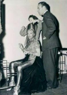 Sidney and Marlene Dietrich