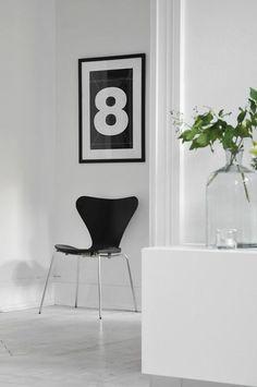 Arne Jacobsen stuhl series 7