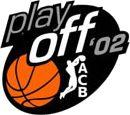 Logo Playoff ACB 2002