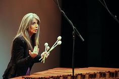 Evelyn Glennie. One of the world's top percussionists and most influential women. Name a drum, keyboard, string, or exotic instrument and she'll rock your world. Oh and did I mention she's deaf?