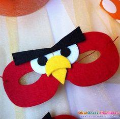 Keçeden Yapılmış Angry Birds Örnekleri - OKUL ÖNCESİ ETKİNLİKLERİ - Hayallerinizi Sınırlamayın