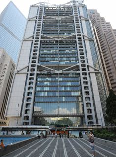 The fourth place was given to Sir Norman Foster's HSBC Building in Hong Kong, built in 1997.