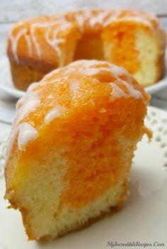 Orange Creamsicle Cake! – My Incredible Recipes