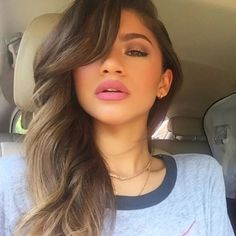 Zendaya @zendaya Instagram photo | Websta ❤ liked on Polyvore featuring hair