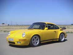"1987 Ruf CTR ""Yellow Bird"".  A real legend"