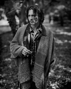 johnny depp- the epitome of male bohemian style