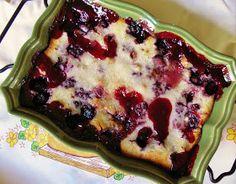 The Cozy Little Kitchen: Faith's Country Blackberry Cobbler!