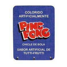 Porta_Chaves_Chiclete_Ping_Pon_539