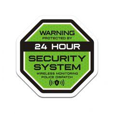 11 Property Security Ideas Security Adhesive Vinyl Alarm