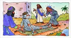 Jesus saw a widow crying as her son who had dies was being buried. Jesus felt compassion. Jesus raised him from the dead.