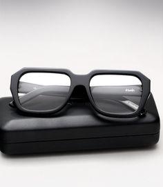 Ksubi Hosta Eyeglasses - Black and Silver Kingsman, Mens Frames, Mens Glasses Frames, Eyeglass Frames For Men, Glasses Shop, Men Eyeglasses, Black Silver, James Dean, Sunglasses