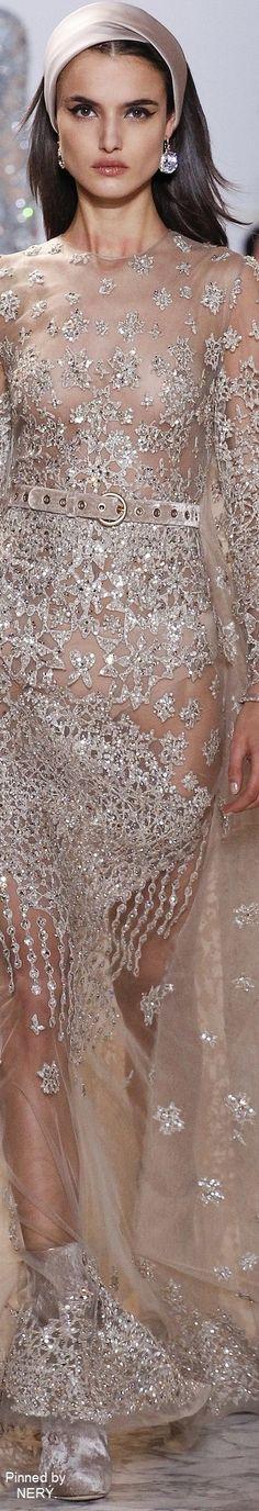 Elie Saab Spring 2017 Couture @michaelsusanno
