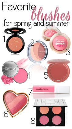 Makeup Wars: My Favorite #Blushes  great for spring and summer!