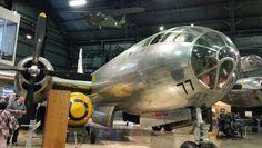 Bocscar bomber from Nagasaki WPAFB Air Museum Dayton, Ohio