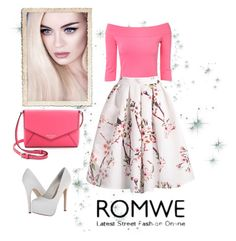 """""""Romwe"""" by sejdina ❤ liked on Polyvore featuring Jane Norman, Kate Spade and Steve Madden"""