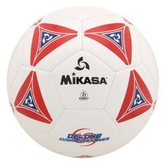 Mikasa Serious Soccer Football Size 5 White With Red 3a1947e67b4c5