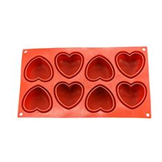 Fiesta 1PCS White Non-Stick Silicone Heart Shaped Baking Mold 3D Cake Bakeware Molds Chocolate Making Desserts Cake Pan Handmade Mold: Red ... (This is an affiliate link) #candymakingsupplies Chocolate Making, How To Make Chocolate, Candy Making Supplies, Silicone Bakeware, Cake Pans, Heart Shapes, 3d, Baking, Link
