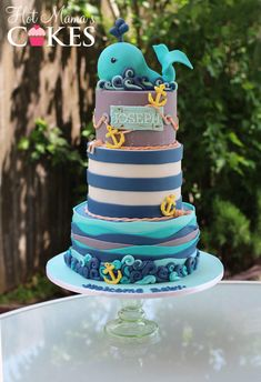 Little Whale for Joseph! - Cake by Hot Mama's Cakes