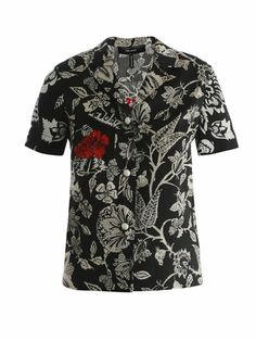 Mick slogan shirt | Isabel Marant | MATCHESFASHION.COM ISABEL MARANT Mick slogan shirt (150019)  $571 Now $228 Save 60%