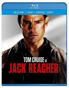Jack Reacher Blu-ray, DVD, Digital Copy package art