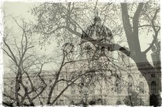 Vienna double exposure | This is my first double exposure photo. I actually made it by accident when shooting outside and changing modes. Thanks to that, I am more aware of my camera options and possibilities