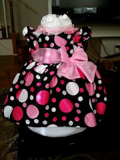 Little Miss Diaper Cake