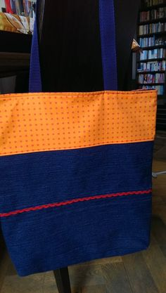 Riflová nákupná taška obojstranná