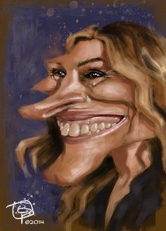 JULIA ROBERTS. E. Pitarch © 2014. All rights reserved.
