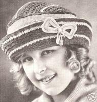 Vintage Antique Crochet Girl's Hat Pattern 1918 Style | eBay