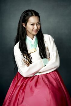 Shin Min Ah in Arang and the Magistrate. She's great!