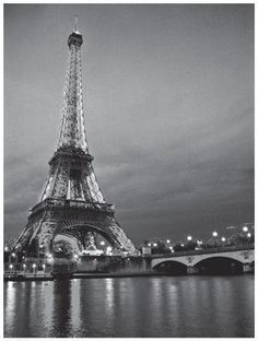 Paper: 24 1/2 x 18 1/2 Image: 24 x 18 Awesome evening photograph of the Eiffel Tower and it's reflections in the Seine river. The charm and romance of Paris captured in this art print poster that is a