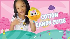 Cotton Candy Cutie Scented Fluffy Slime & Squishies SA