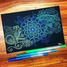 Doodlespaper • #mandalatattoo