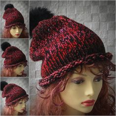 Dreadlock Accessories Hat For Dreads Fur Pom  Pom