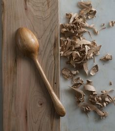 How to: Carve a Simple Wooden Spoon from Any Hardwood | Man Made DIY | Crafts for Men | Keywords: how-to, diy, woodworking, workshop