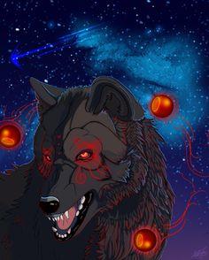 OFF-WHITE - Hati Off White Comic, Animal Tatoos, Wolf Comics, Shadow Wolf, Wolf Sketch, Creepypasta Cute, Werewolf Art, Fantasy Wolf, Wolf Wallpaper