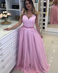 Tulle and Lace Prom Dresses Banquet Gowns Evening Gowns Long Prom Gowns, Short Dresses, Prom Dresses, Formal Dresses, Wedding Dresses, Gowns With Sleeves, The Dress, Aesthetic Pictures, Evening Gowns