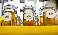 Bumble Bee baby shower - Favors (Honey)