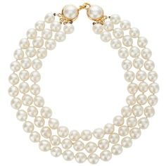 Chanel Vintage Chanel Pearl Necklace ❤ liked on Polyvore featuring jewelry, necklaces, accessories, pearls, ювелірні вироби, white pearl necklace, pearl necklaces, pearl jewelry, chanel necklace and pearl jewellery