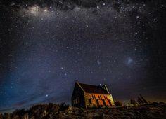 世界初の星空世界遺産?ニュージーランド「テカポ湖」の美しすぎる満点の星空 | RETRIP