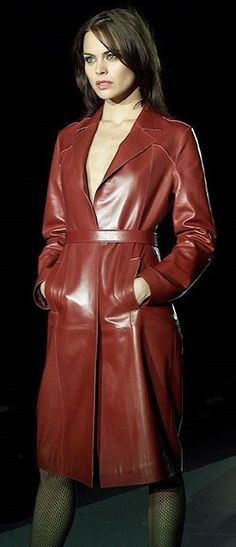 Leather Fashion, Red Leather, Leather Jacket, Lady, Jackets, How To Wear, Clothes, Beautiful, Women