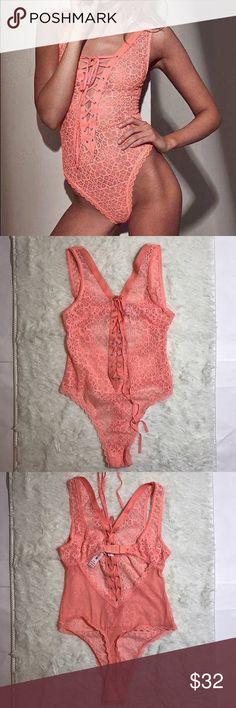 VS Medium Lace Teddy Unlined Victoria's Secret Intimates & Sleepwear Bras