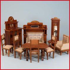 m belsatz firma schneegass schlafzimmer ebay antike puppenstubenm bel pinterest. Black Bedroom Furniture Sets. Home Design Ideas