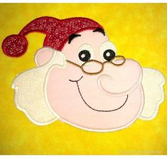 Sumee Pirate Machine Applique Embroidery Design, multiple sizes including 4 inch
