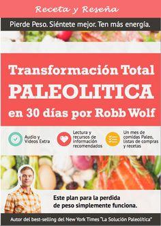 """Existe una pequeña cantidad de materiales para la dieta paleolítica en español ya que todavía está muy nueva en el mundo de habla hispana. Muchos conocerán el libro """"La Solución Paleolítica"""" del reconocido Robb Wolf que ha sido traducido al español y es uno de los mejores libros sobre la dieta paleo disponible en nuestro...Leer Más »"""