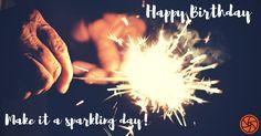 nice Happy Birthday Make It A Sparkling Day
