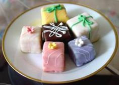 Petit Fours....these are SO simple and tasty! You can be really creative and make them your own!